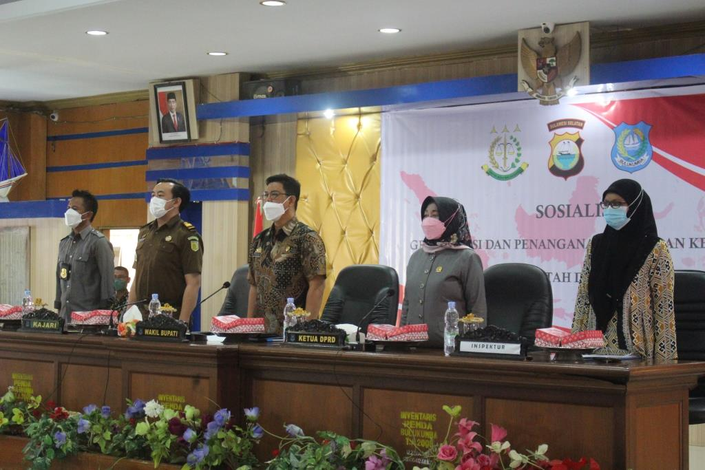 Wakil Ketua DPRD Bulumba Hadiri Gratifikasi dan Penanganan Benturan Kepentingan